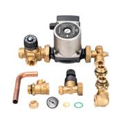 Комплект для насосной группы с термостатическим клапаном