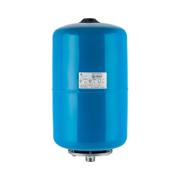 Расширительный бак гидроаккумулятор вертикальный (цвет синий)