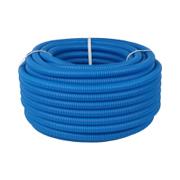 Труба гофрированная синяя