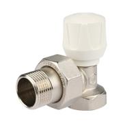 Клапан ручной терморегулирующий угловой