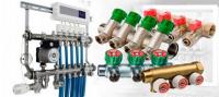 Коллекторы отопления и водоснабжения