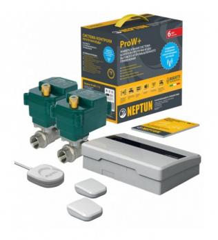 "NEPTUN Bugatti ProW+ ½"" | Беспроводная система контроля от протечки воды"