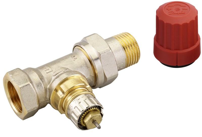 Клапан терморегулятора Danfoss RTR-N Ду 15, прямой